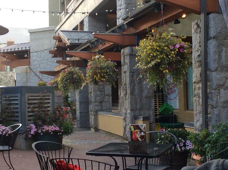 Old Spaghetti Restaurant, Crystal Lodge, Whistler. 5 August 2015