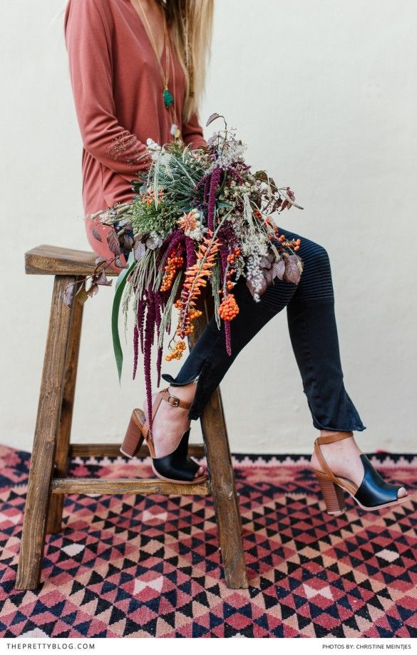Bohemian flower inspiration and ideas! Foral & Decor : Studio Bloem