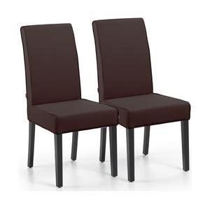 Met deze LaForma Chevy Eetkamerstoelen maak je van de eethoek een stijlvol geheel. De stoel is gemaakt van kwalitatief kunstleer en heeft houten poten. De hoge rugleuning zorgt voor comfort, zodat je heel prettig aan de eettafel kunt zitten. Op www.shopwiki.nl #eetkamer #stoelen