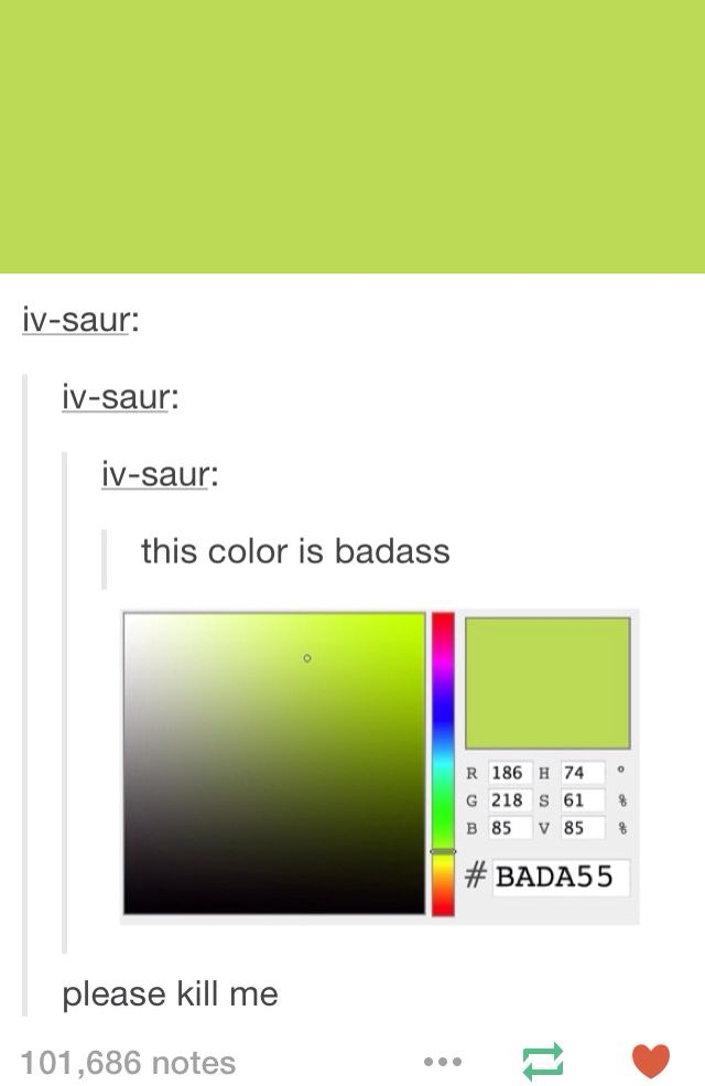 GREEN MAY NOT BE A CREATIVE COLOR BUT IT IS A BADASS ONE SO TAKE THAT HATERSSSSS @karmatimine @lenneajenkins @JAAEEGGEERR @dazambarmy