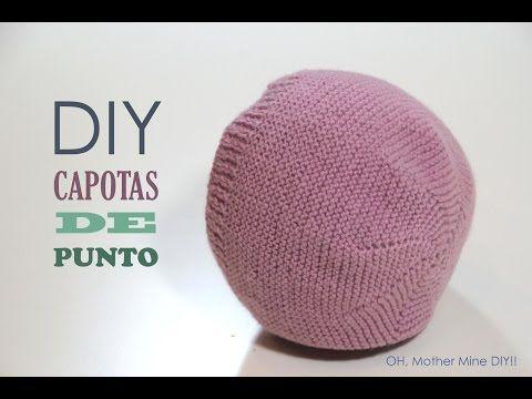 DIY Tejer: Cómo hacer capotas de punto para bebés | Manualidades