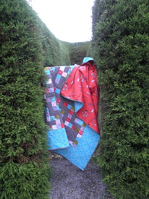 maze quilt: Snapshot Quilt, Quilt Ideas, Maze Quilt