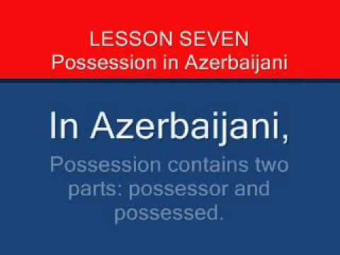 Ten Azerbaijani Language Lessons
