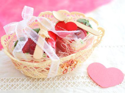 お菓子のラッピング バレンタイン