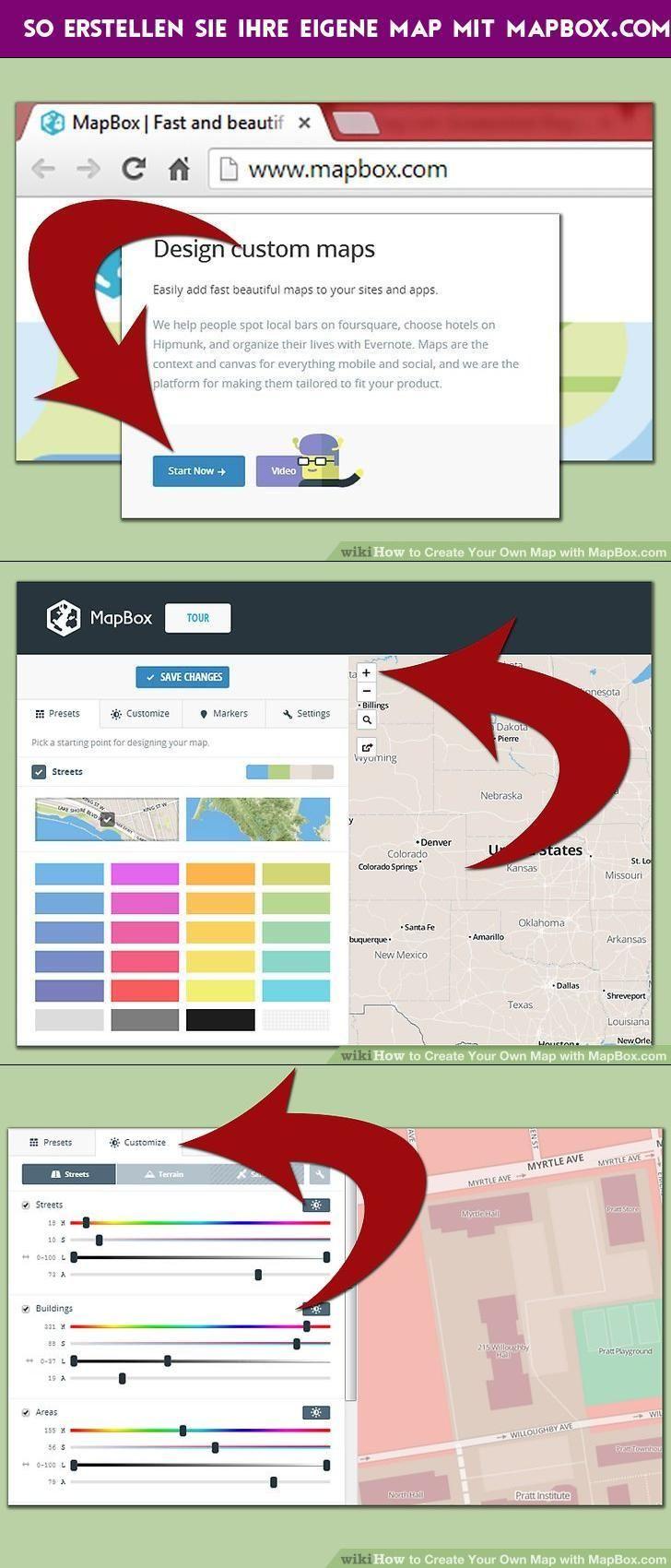 So erstellen Sie Ihre eigene Map mit MapBox com | How To | Map