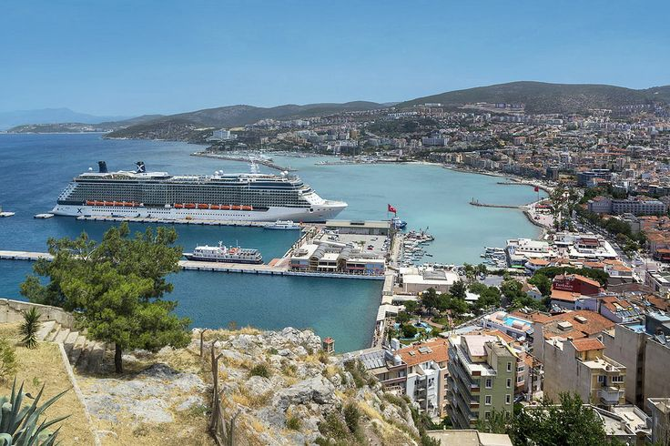 Visit Kusadasi, which in spite of its increasing tourism has still preserved its oriental character with coffee‑houses, small bazaars and Turkish baths 'Hamams'.