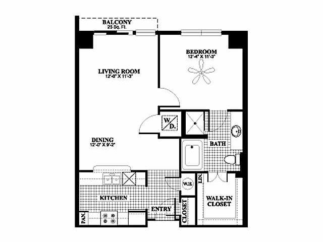 72 Best Bryson At City Place Floor Plans Images On Pinterest 2 Bedroom Apartments Apartment