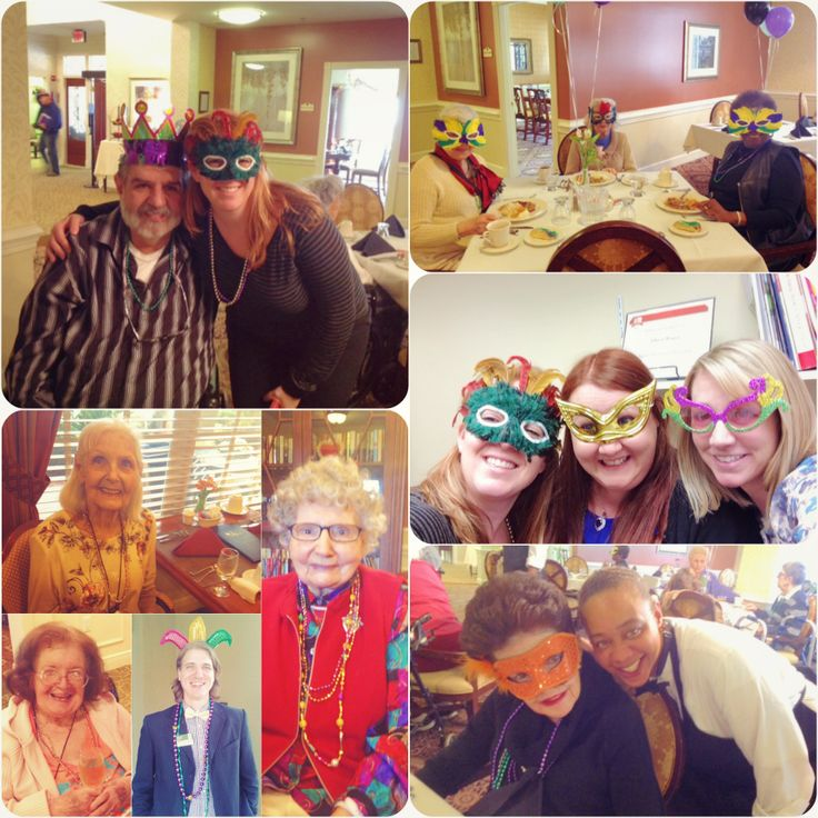 Mardi Gras at Atria Senior Living!