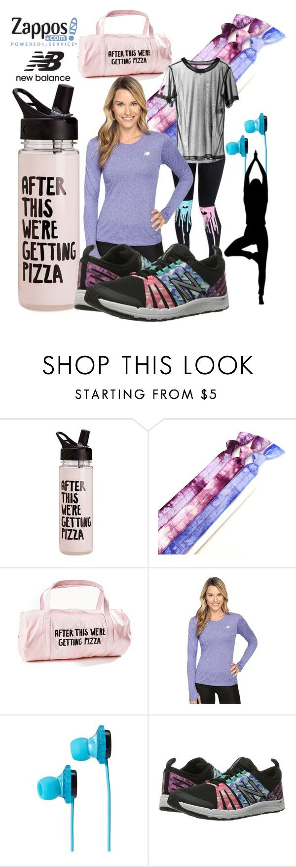 """""""Run the World in New Balance"""" by alyglows ❤ liked on Polyvore featuring ban.do, band.do, New Balance, SOL Republic and NewBalance"""
