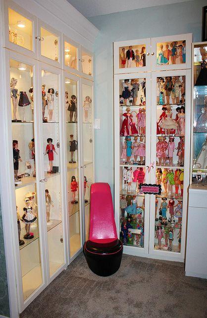 153 best barbie displays images on Pinterest  Doll houses