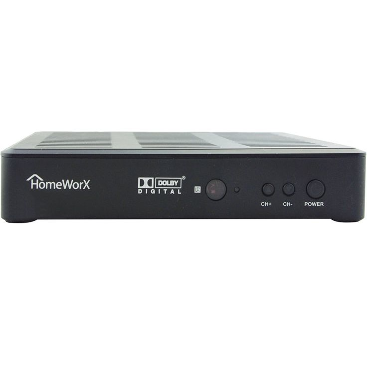 HomeWorx HW180STB HDTV Digital Converter Box with Media Player Function & Dolby Digital & HDMI Out