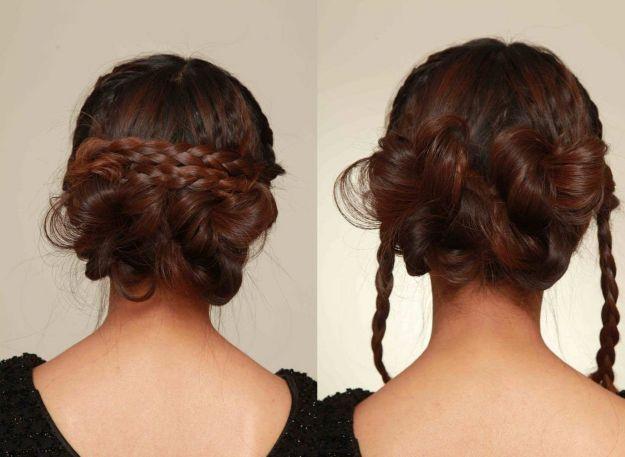 Прическа на 1 сентября - двойная коса ::: onelady.ru ::: #hair #hairs #hairstyle #hairstyles