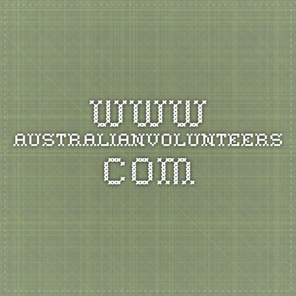 www.australianvolunteers.com