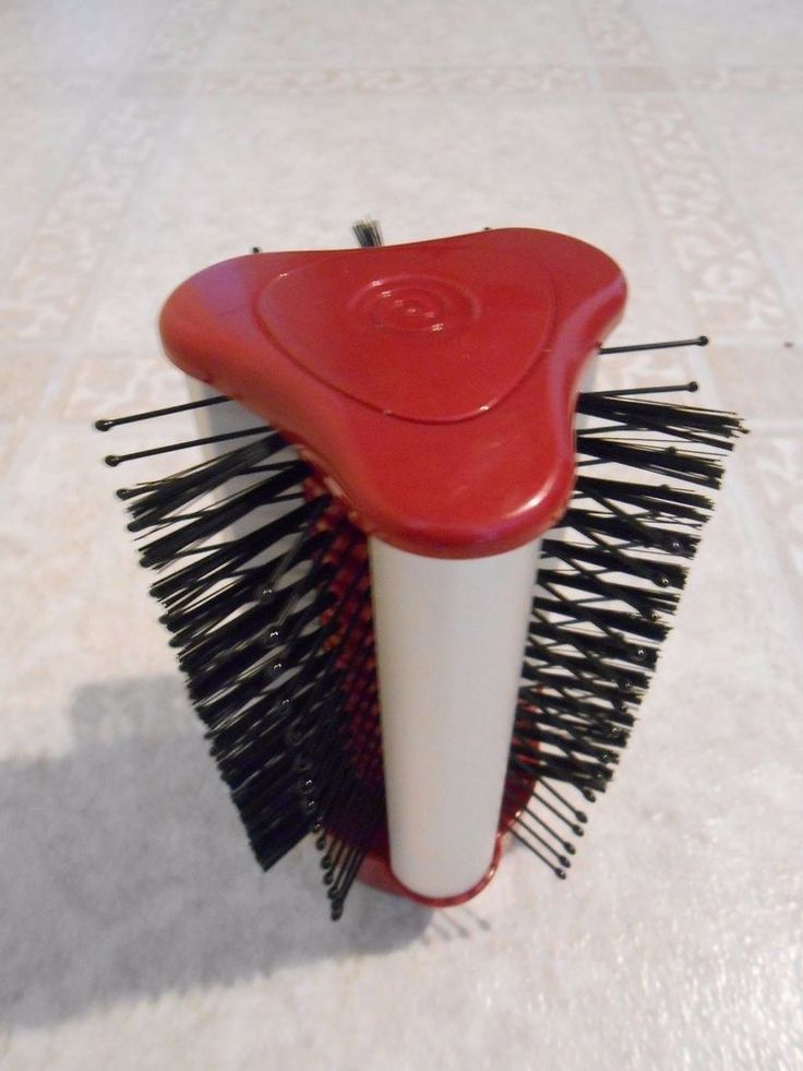 Spin Brush For Bathroom: Revo Styler Replacement Large Barrel Head ONLY For Red