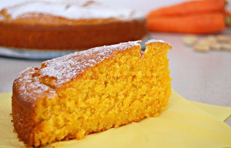 TORTA CAMILLA senza lattosio, ideale per una sana merenda. Contiene carote, mandorle e arancia. I bambini ne andranno ghiotti, ma non solo loro!