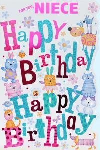 Happy Birthday Cards Free for neice | niece birthday card code niece 2 in stock £ 2 49 free first class ...