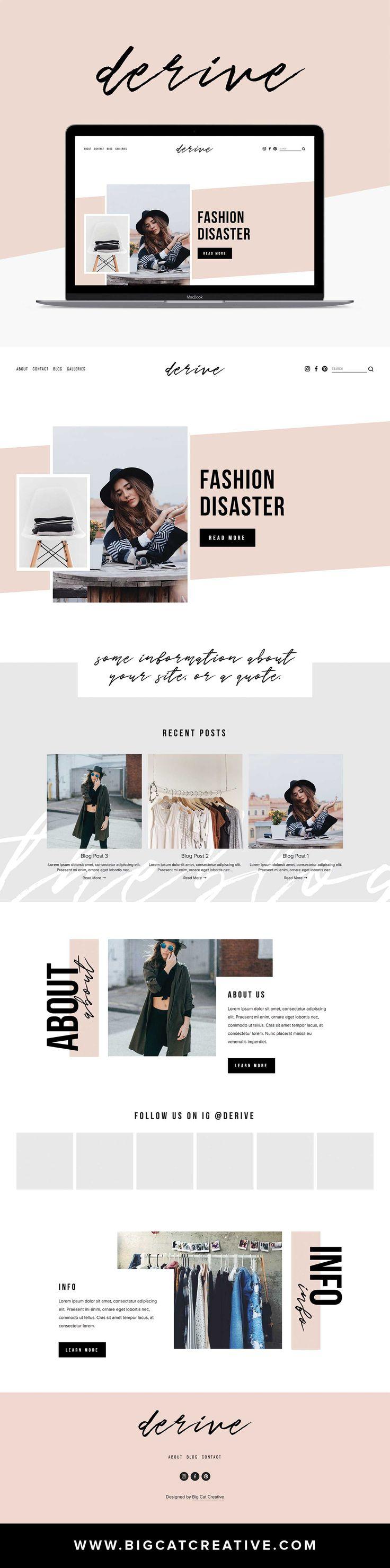 576 best design web design inspiration images on pinterest blog design bridal invitations. Black Bedroom Furniture Sets. Home Design Ideas