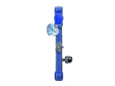 Hunter Smart Crown Katzenhalsband mit Glöckchen blau #katzenhalsband #crown #hunter