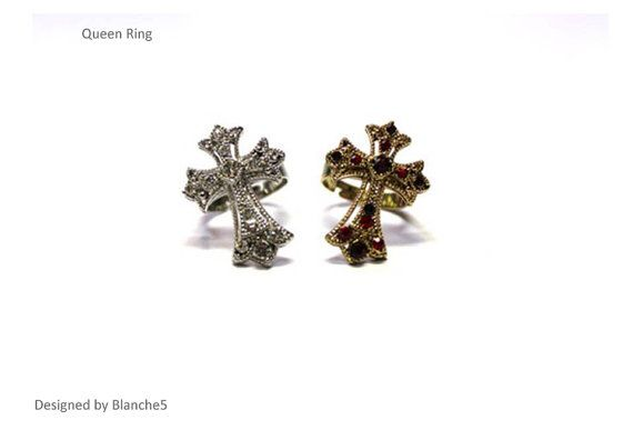 Queen Ring by Myfunny on Etsy, $15.20