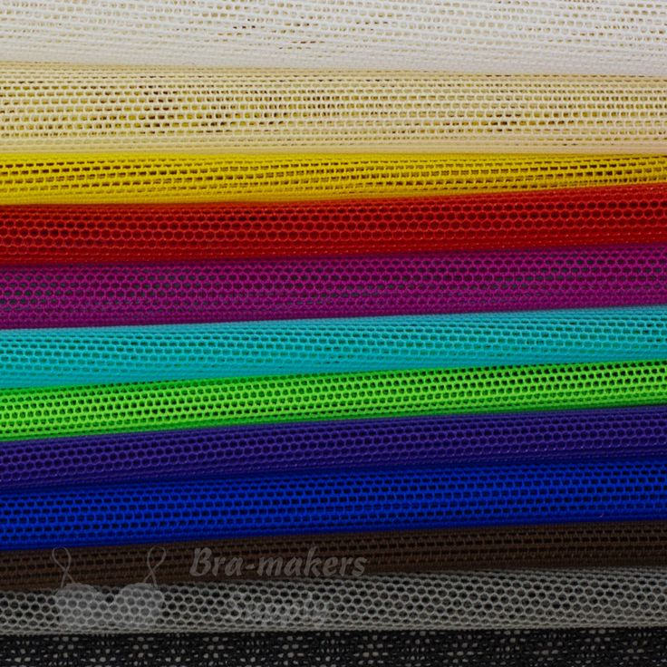 Our Stretch Mesh Sampler Pack includes a sample of each of all Stretch Mesh fabrics. This is an economical way to view each of our Stretch Mesh colours.