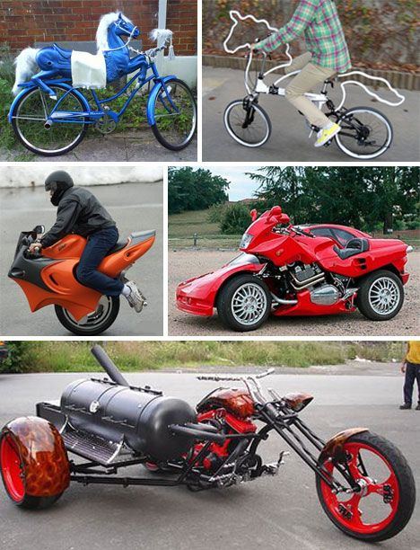 Riding High: 30 Outrageous Bike Mods