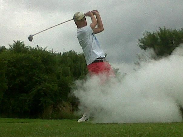 Power of the drive #McCarthyAudiGolfCompetition