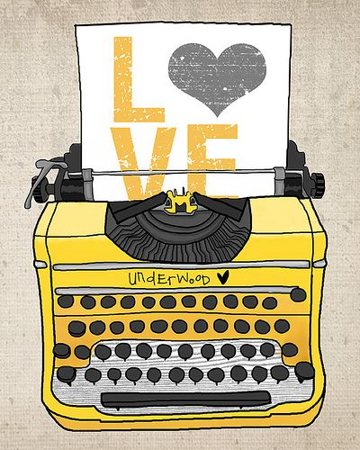 typewrite & color love