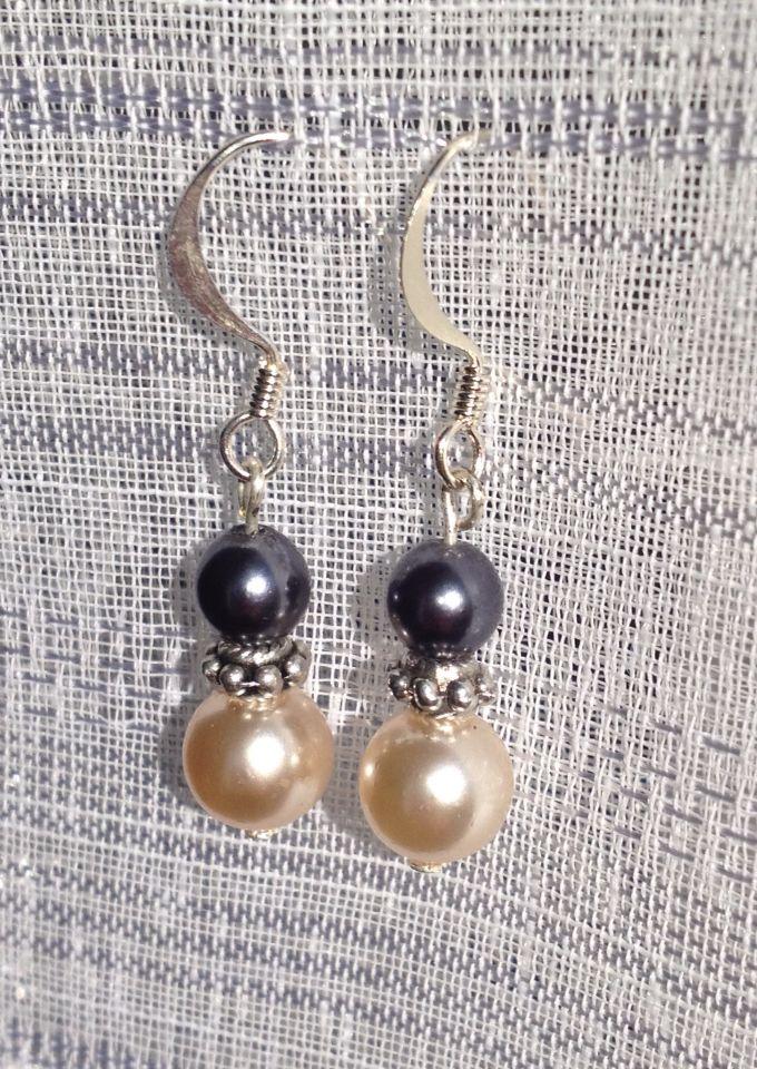 Boucles d'oreilles perles DIY
