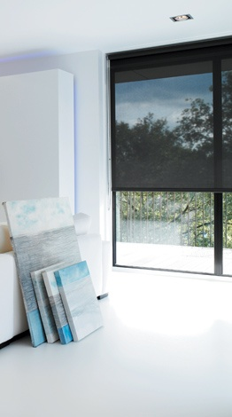 Solar shades - UV protection with a view.