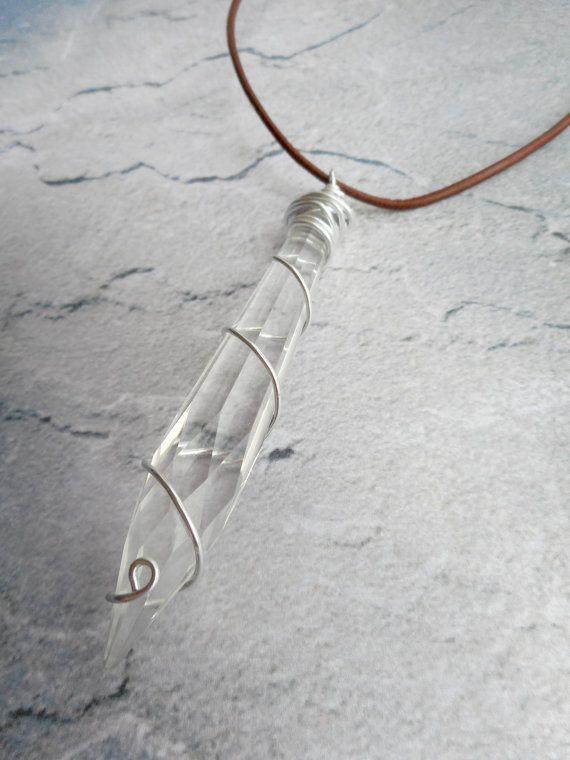 Fatti in casa chiaro cristallo sfaccettato di JHFWBeadsAndFindings