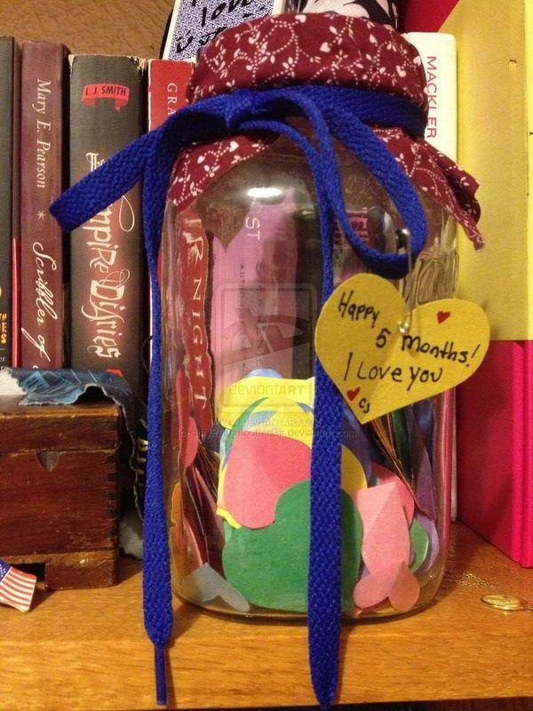 mason jar gift with hearts 32