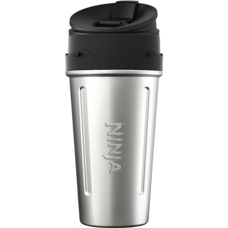 Ninja Nutri Ninja 24-oz. Stainless Steel Cup, Black