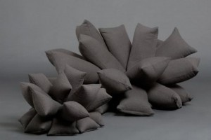 Divano originale: fatto di cuscini