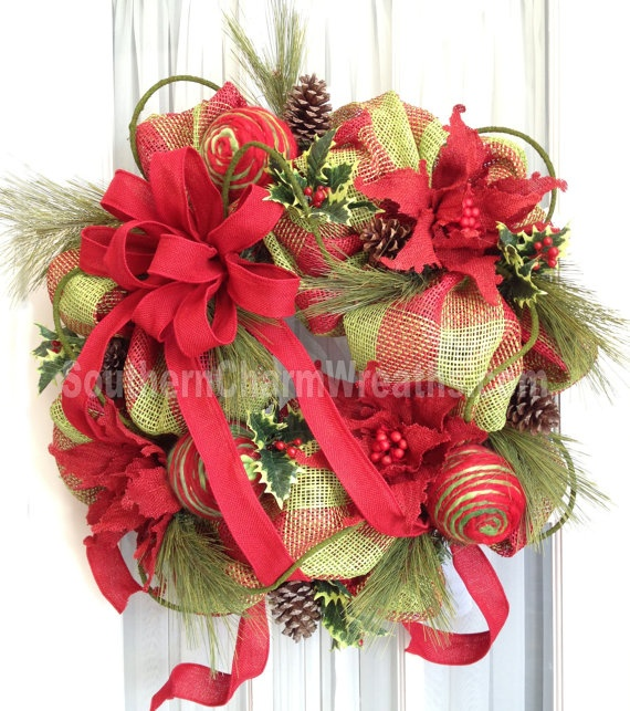 Holiday Christmas Wreaths
