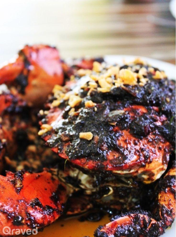 Kepiting Bakar Lada Hitam at Iwake Seafood Restaurant