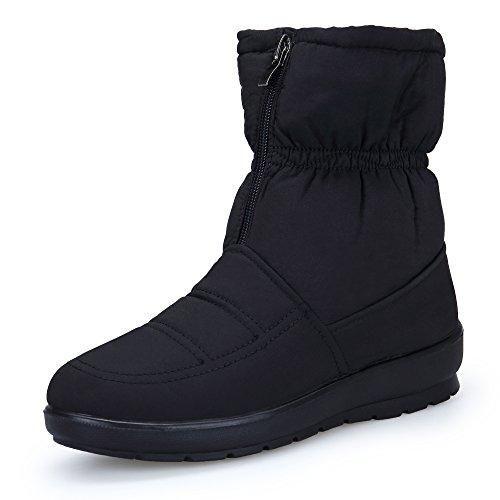 Oferta: 29.99€. Comprar Ofertas de KOUDYEN Mujer Zapatos Botas De Nieve Invierno Impermeable Fur Boots Botines,MX1308-Black-EU39 barato. ¡Mira las ofertas!