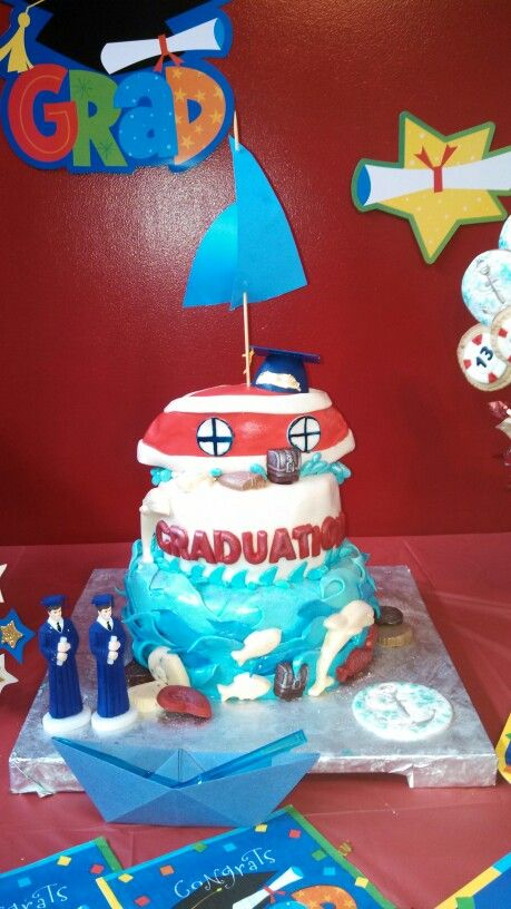 Graduation Cake Partyhelper