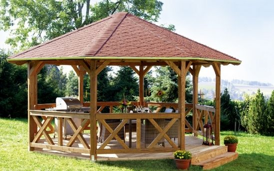 35 besten Pavillons de jardin Bilder auf Pinterest | Gartenhütte ...