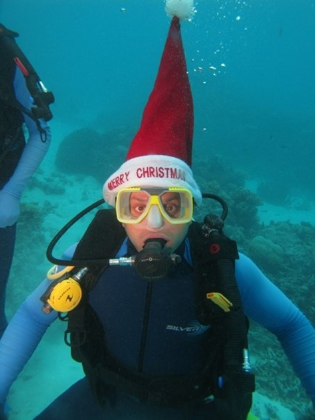 Every diver has the Great Barrier Reef on their bucket list....I got to hit this Christmas Eve in 2008.