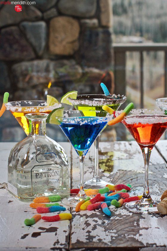 Festive Silver Tequila Margaritas