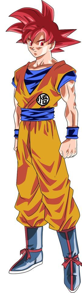 Super Saiyan God - Dragon Ball Wiki: