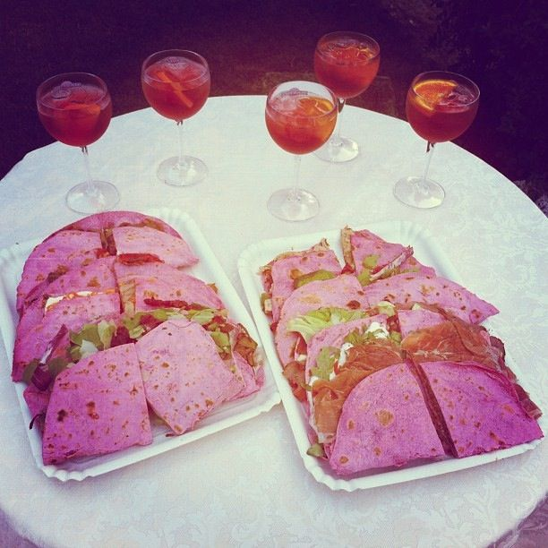 @TurismoER L'immancabile piadina rosa