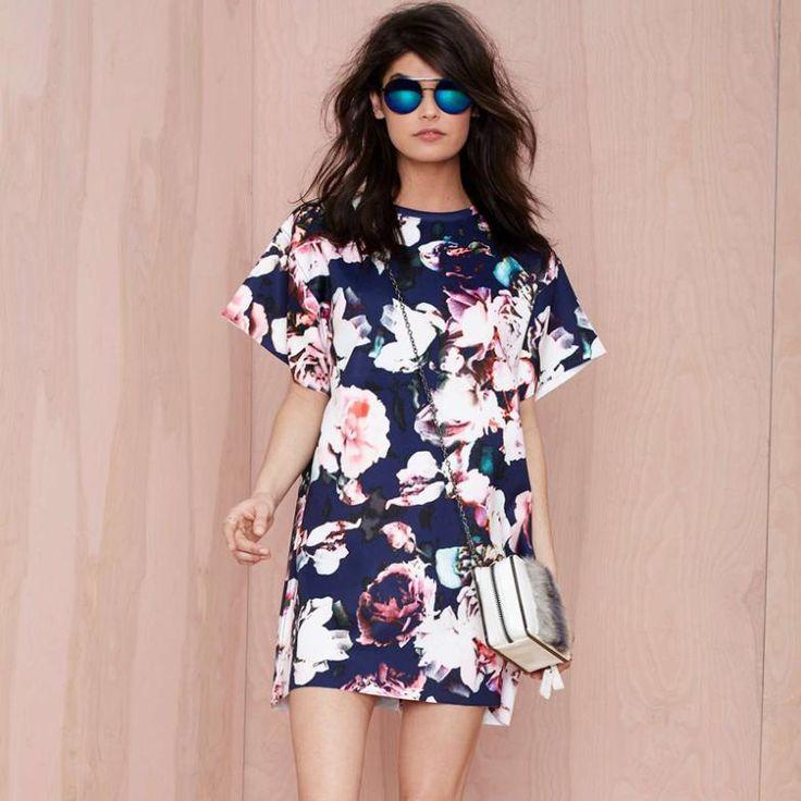 Cari Lebih Meja Rias Informasi tentang Wanita Vintage yang berpakaian, 2015 fashion bunga / bunga cetak gaun musim panas seksi, Wanita garis longgar gaun gaun landasan pacu Nora15773, Kualitas Tinggi Meja Rias dari Best Clothing Store pada Aliexpress.com