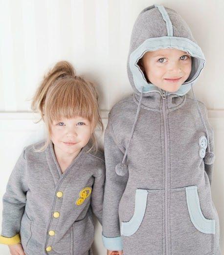 Bluza i kardigan, cieplutkie milutkie i dzieci to kochają, Puszek