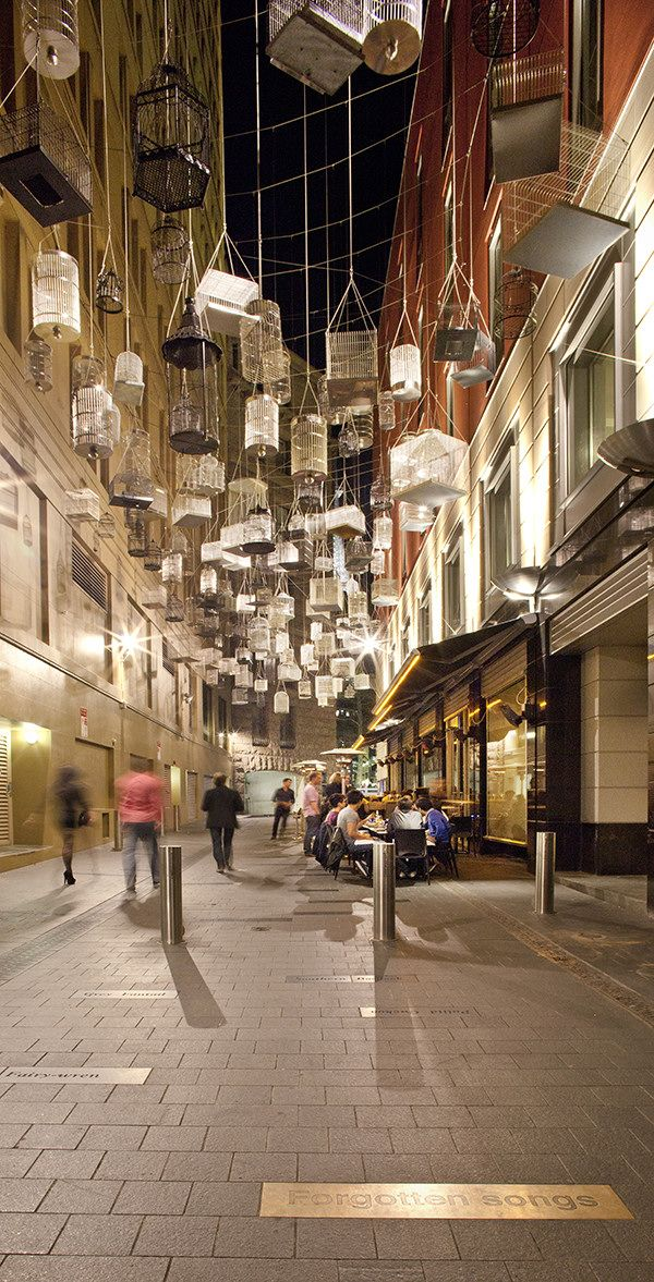 Angel Place and Ash Street Sydney, Australia. Landscape Architects : Aspect Studios.