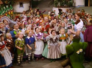 dorothy with the munchkins wizard of oz - Google Search