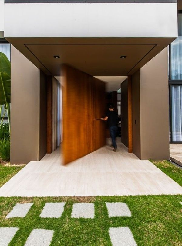 World Of Architecture: 30 Modern Entrance Design Ideas For Your Home |  #worldofarchi #
