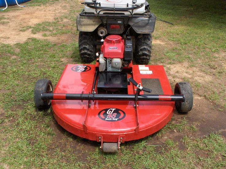 Pull Behind Bush Hog Mowers Sold F S Bush Hog Gt 48 Quot 4