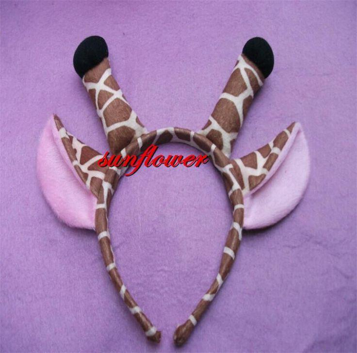 Lovely Animal Ears Tentacle Headband Giraffe Headband Birthdat Party Cosplay for Children Kids Unisex Online with $17.7/Piece on Emmayu's Store | DHgate.com