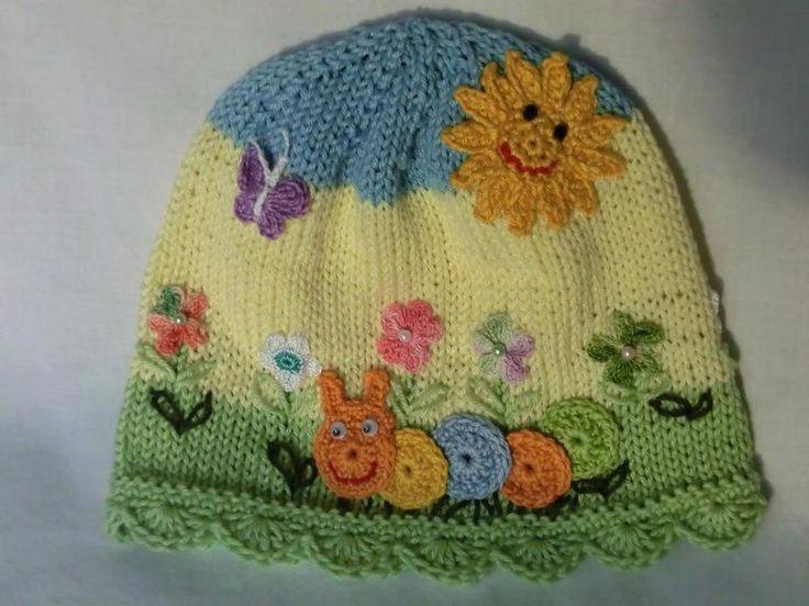 kız bebek için şapka örgü modelleri - Google'da Ara